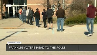 Live poll check-in throughout the state