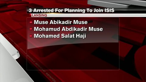 3 Lansing residents arrested for planning to join ISIS