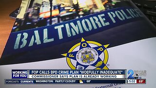 Baltimore Police union releases scathing report, describing a department in ruins