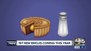157 new emojis will be released in 2018 - Video