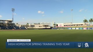 Palm Beach County business owners cautiously optimistic about spring training starting amid pandemic