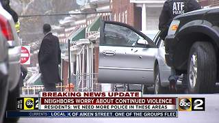 East Baltimore residents worry about crime, violence in their neighborhood - Video