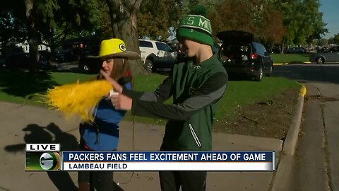 Packers fans excited for Monday night showdown against the Lions