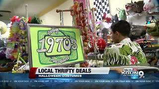 Local thrifty Halloween costume deals