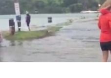 Storm Surge Floods Waiheke Island - Video