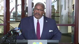 West Palm Beach Mayor Keith James announces major changes in police department