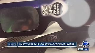 Colorado couple claims eye damage after receiving free eclipse glasses - Video