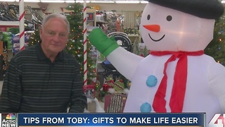 Tips from Toby: Gift ideas that make life easier - Video