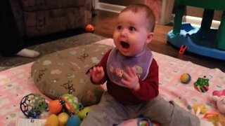 These Babies are SUPER Excited! - Video