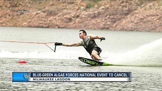 Water ski event canceled due to blue green algae - Video