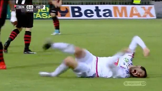 This Soccer Player's FLOP Puts LeBron James to Shame - Video