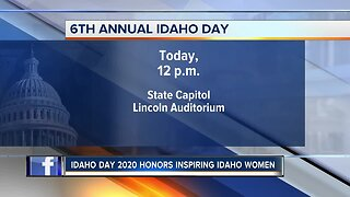 Idaho Day celebration at the State Capitol