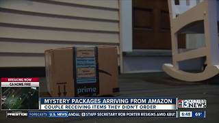 Couple receives multiple mystery packages from Amazon - Video