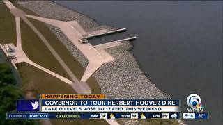Gov. Scott to visit Herbert Hoover Dike on Lake Okeechobee - Video