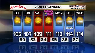 13 First Alert Weather for June 15 2017 - Video