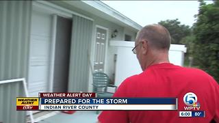 Homeowners ready for Emily in Indian River County - Video