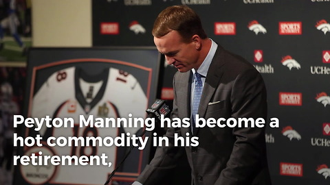 Peyton Manning Being Pursued By ESPN And Fox Sports