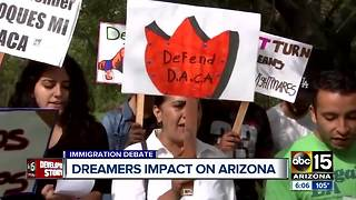 "DACA decision has ""dreamers"" waiting on edge"