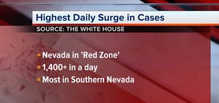 Nevada sees highest daily COVID-19 case surge