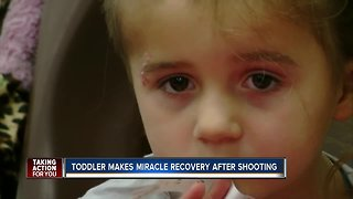 Florida toddler makers miracle recovery after shooting
