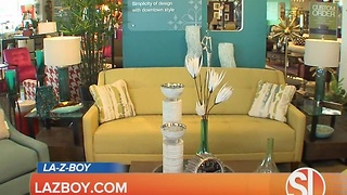 Terri O shows ideas for styling cocktail tables at La-Z-Boy - Video