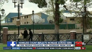 Homeless count reflects increase across Kern County