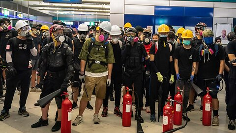 Hong Kong Transit Operator Vows To Crack Down On Violent Protests
