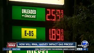 Hurricanes cause spike in Colorado gas prices - Video
