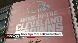 Cleveland Browns national anthem controversy concludes - Video