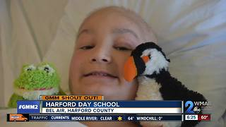 Good morning from the Harford Day School!