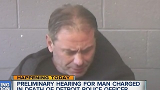Man accused in hit-and-run that killed Detroit police officer due in court - Video