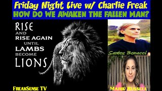 Charlie Freak Friday Night LIVE with Santos Bonacci, Marie Russell, Remembrancer