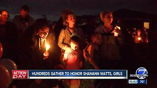 Candlelight vigil honors Frederick mom and her 2 young girls - Video
