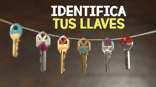 Identifica tus llaves de manera colorida. - Video