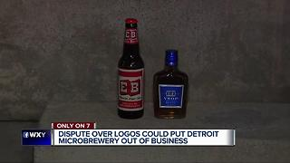 Dispute over logos could put Detroit microbrewery out of business - Video
