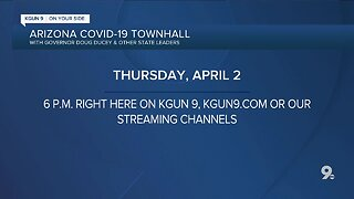 THURSDAY: Governor Doug Ducey answers your COVID-19 questions