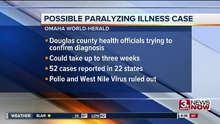 Child in Douglas County may have rare disease