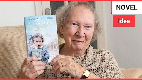 Widow becomes the world's oldest debut novelist