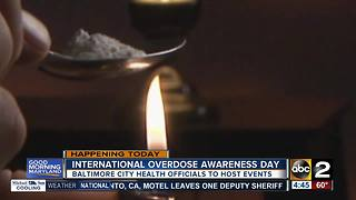 Thursday is International Overdose Awareness Day - Video