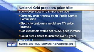 National Grid and NY State to host information and public hearing sessions on price hike - Video