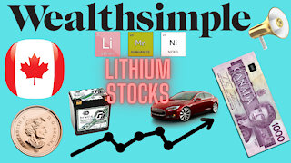 BATTERY/LITHIUM PENNYSTOCKS - WealthSimple Trader