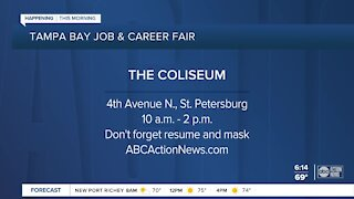 Get hired at the Tampa Bay Job and Career Fair on Monday