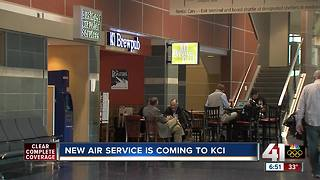 New airline service announcement expected Tuesday at KCI - Video