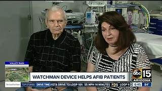 Quarter-sized device helps couple with heart issues