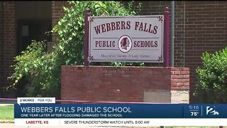 Webbers Falls Public, A Year After The Flood