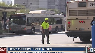 RTC offering free rides on New Year's Eve - Video