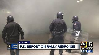 Police report on Trump rally response released Monday - Video
