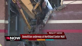 Northland Mall in metro Detroit demolished to make room for Amazon - Video