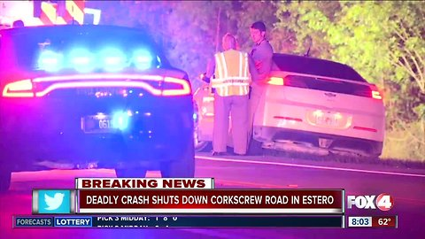 Deadly head-on collision kills two people in Estero