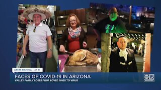 Valley family devastated by COVID as two parents, two sons die from virus